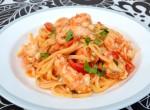 Krämig pastarätt med havskräftor